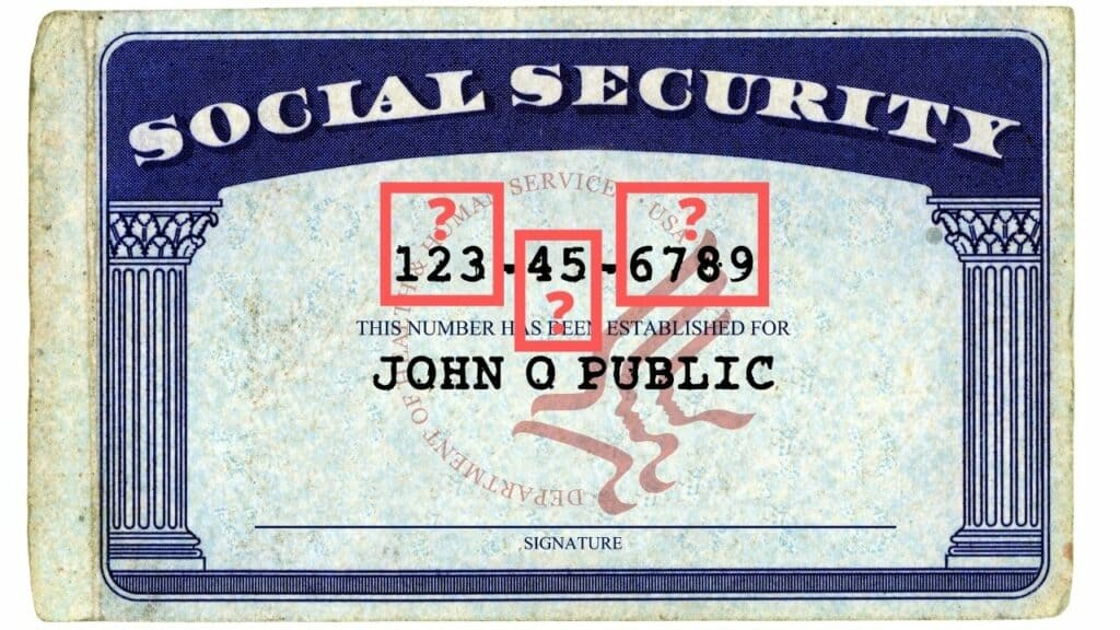 what social security numbers mean
